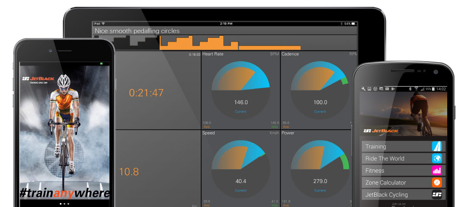 JetBlack Cycling trainer app